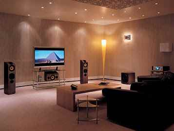 How do I set up my home theatre system?