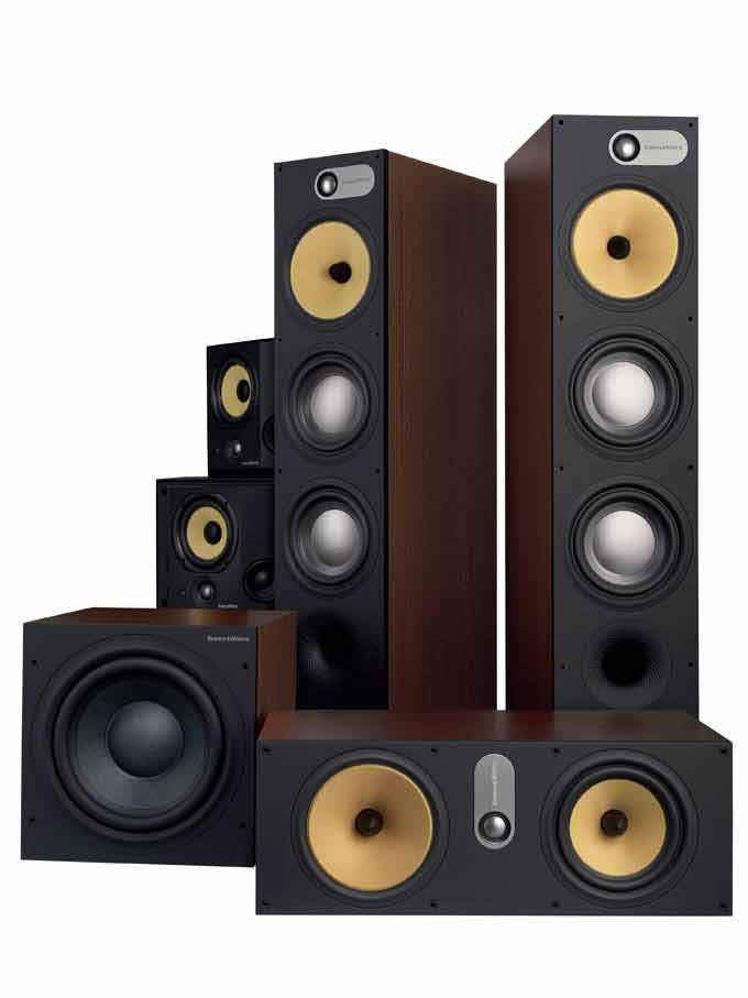 Bowers and Wilkins Speaker set for Home Theatre package