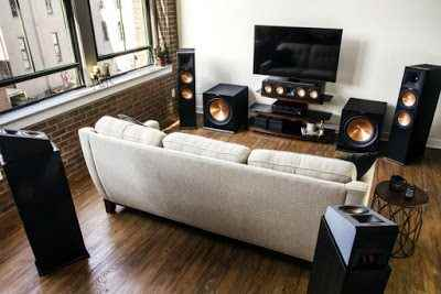 Sound from above & all around- KLIPSCH DOLBY ATMOS