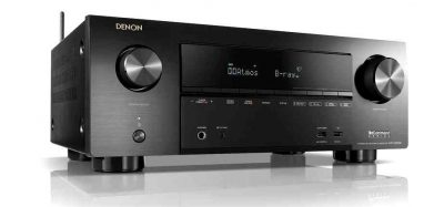 Denon AVRX2500H 7.2 Channel Home Theatre Receiver with FREE HEOS 1