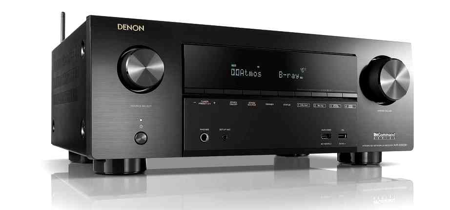 denon avrx2500h 7 2 channel home theatre receiver with free heos 1 sound and image. Black Bedroom Furniture Sets. Home Design Ideas